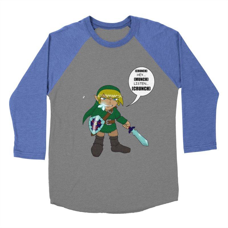 Link's Fantasy Women's Baseball Triblend T-Shirt by zhephskyre's Artist Shop