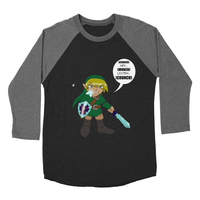 Link's Fantasy Women's Baseball Triblend Longsleeve T-Shirt by zhephskyre's Artist Shop