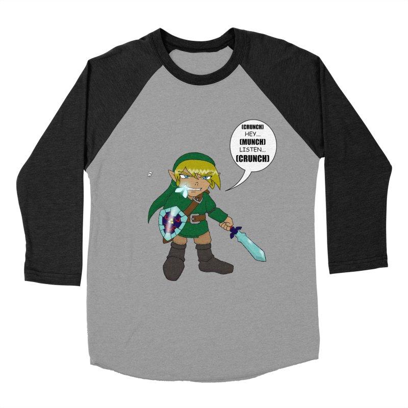 Link's Fantasy Men's Baseball Triblend Longsleeve T-Shirt by zhephskyre's Artist Shop