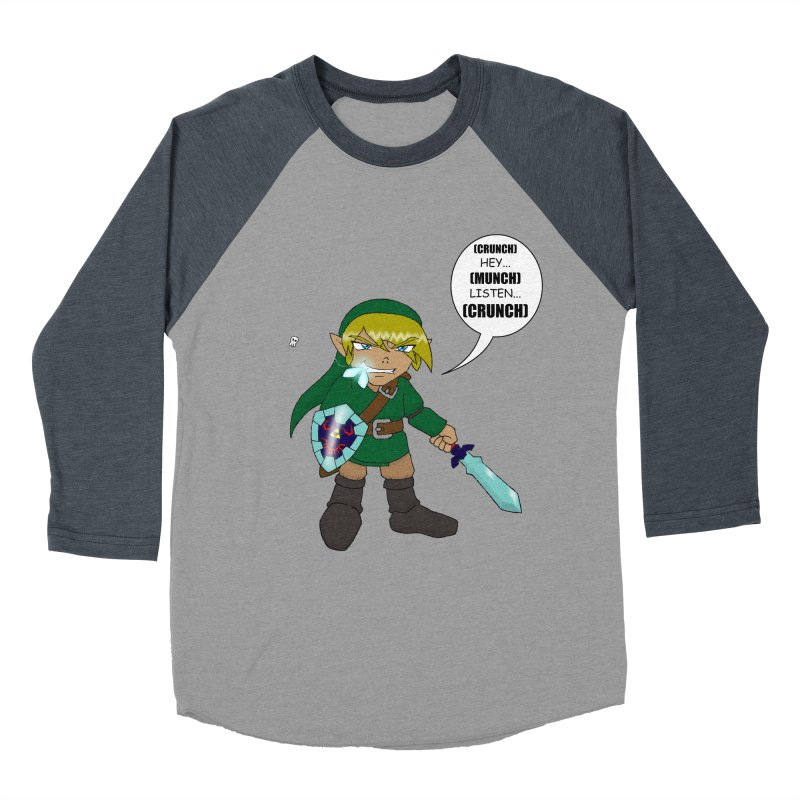 Link's Fantasy Men's Baseball Triblend T-Shirt by zhephskyre's Artist Shop