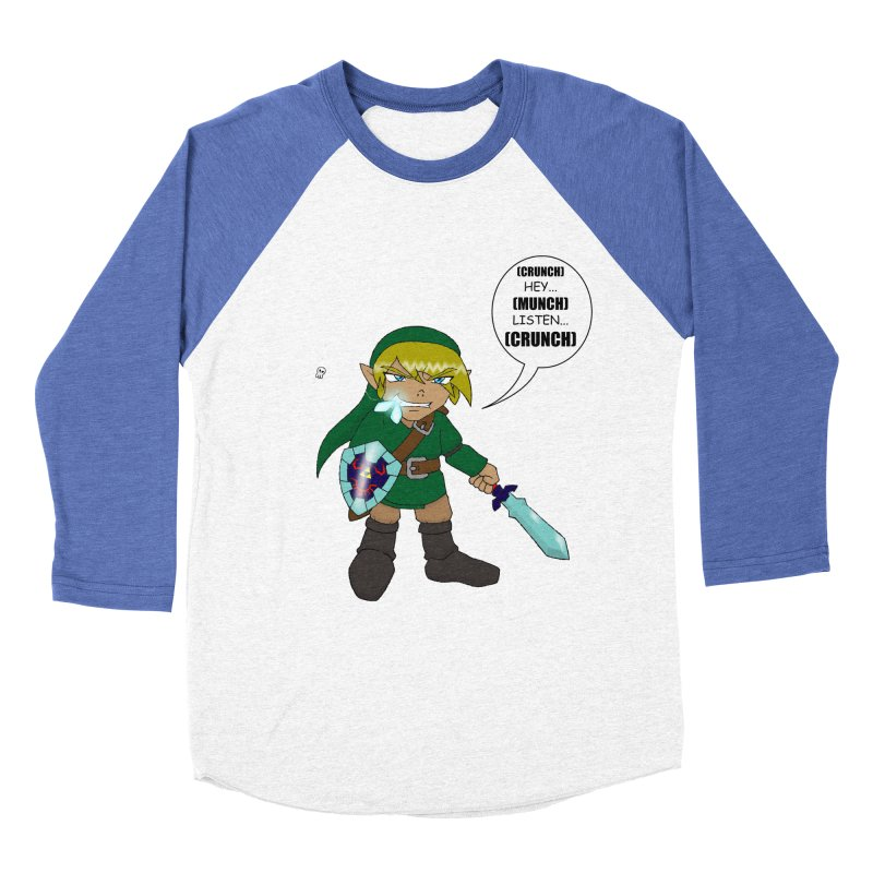 Link's Fantasy Men's Baseball Triblend T-Shirt by zhephskyre's Artist Shop