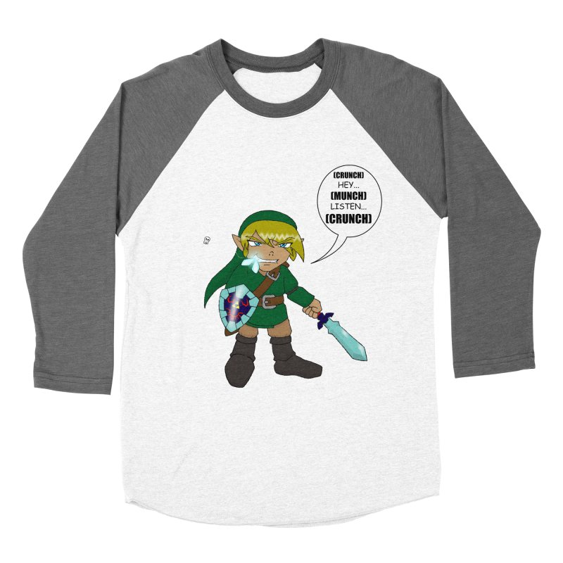 Link's Fantasy Men's Baseball Triblend Longsleeve T-Shirt by zhephskyre's Artist Shop