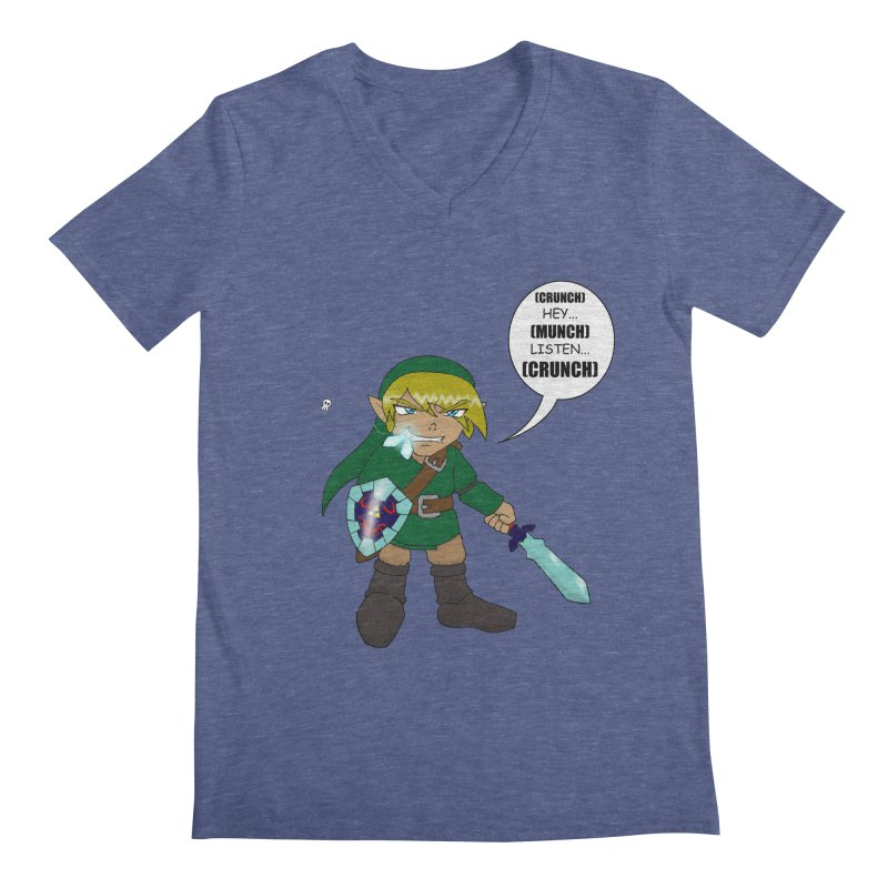 Link's Fantasy Men's Regular V-Neck by Zheph Skyre
