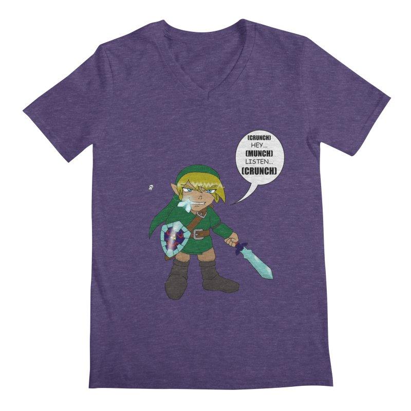 Link's Fantasy Men's Regular V-Neck by Zheph Skyre