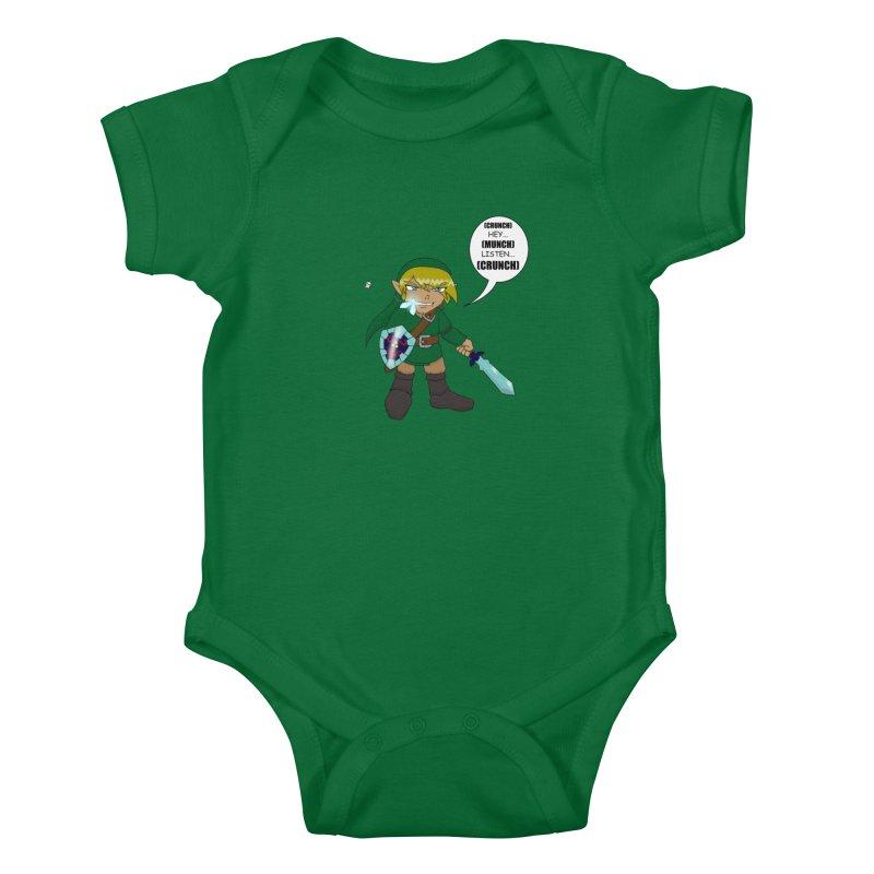 Link's Fantasy Kids Baby Bodysuit by Zheph Skyre
