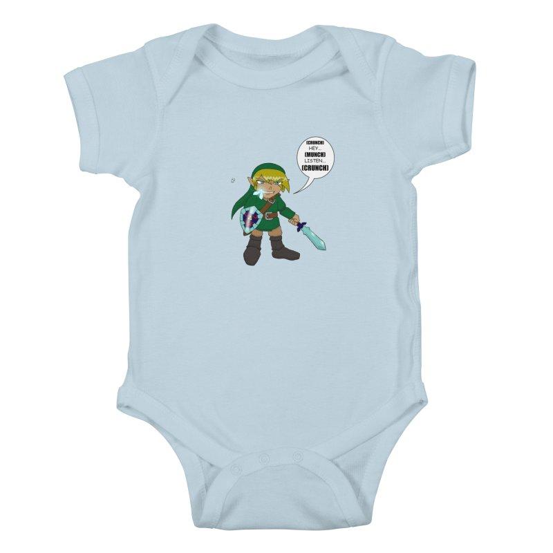 Link's Fantasy Kids Baby Bodysuit by zhephskyre's Artist Shop