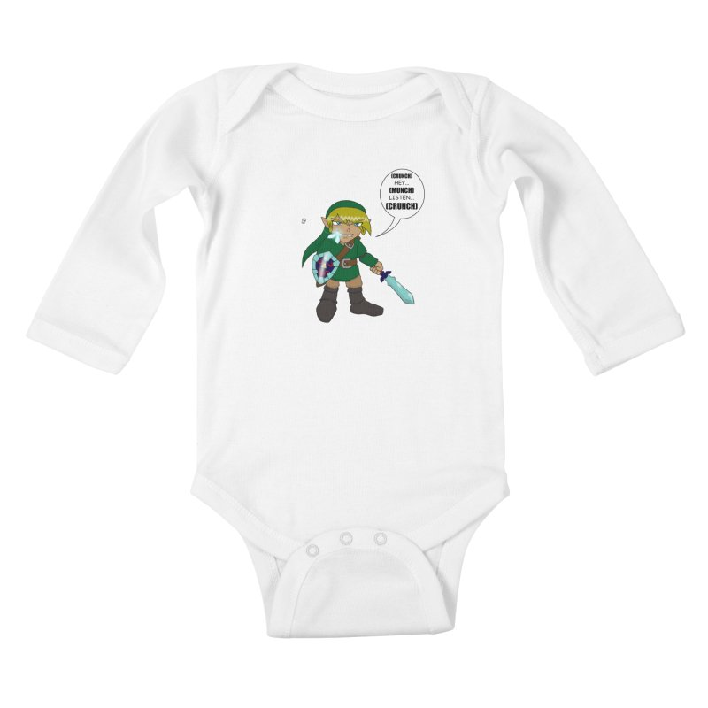 Link's Fantasy Kids Baby Longsleeve Bodysuit by Zheph Skyre