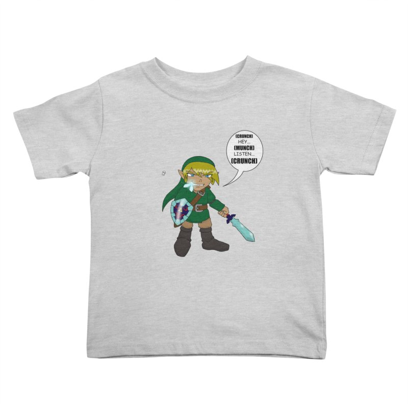 Link's Fantasy Kids Toddler T-Shirt by zhephskyre's Artist Shop
