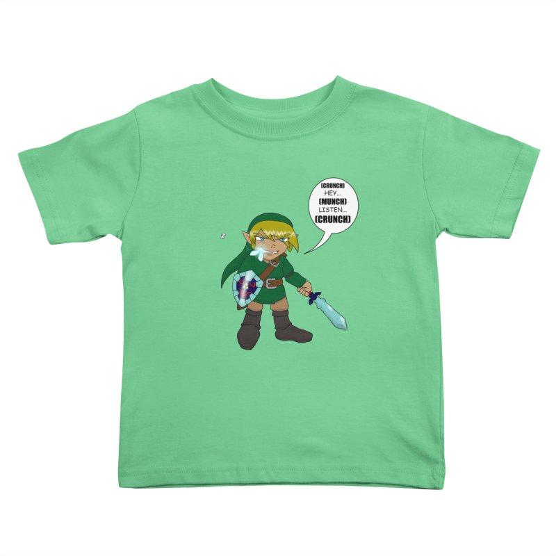 Link's Fantasy Kids Toddler T-Shirt by zhephskyre's Artist Shop