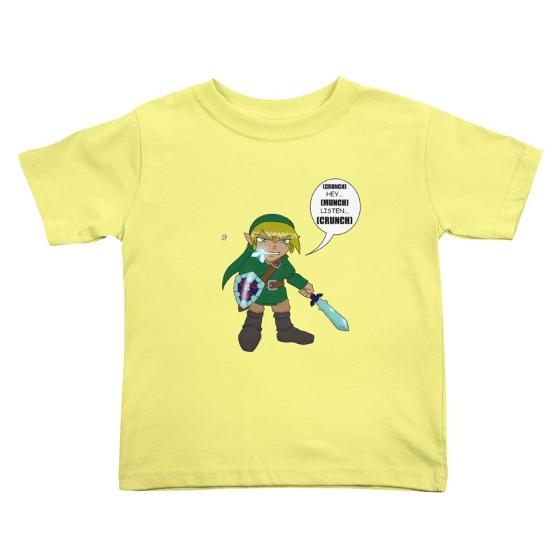 Link's Fantasy Kids Toddler T-Shirt by Zheph Skyre