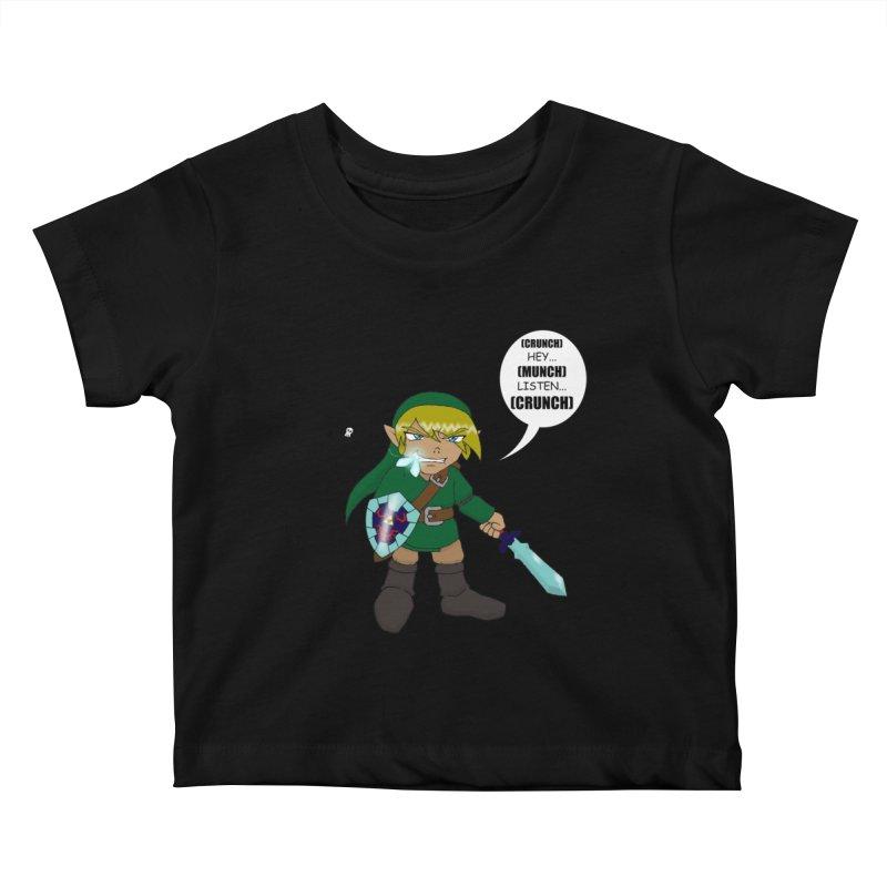 Link's Fantasy Kids Baby T-Shirt by Zheph Skyre