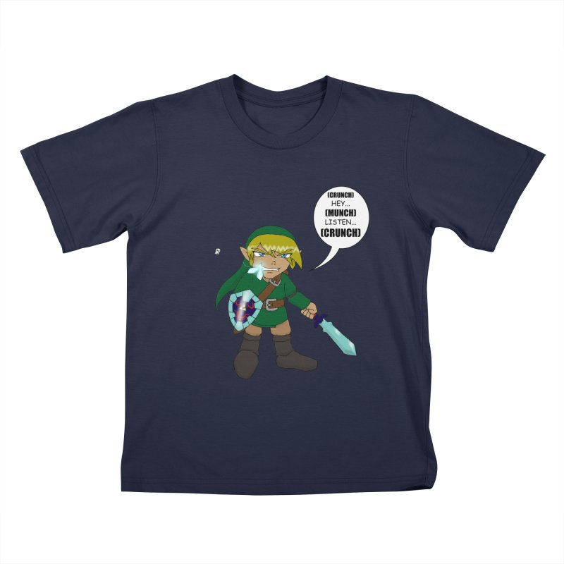 Link's Fantasy Kids T-Shirt by Zheph Skyre