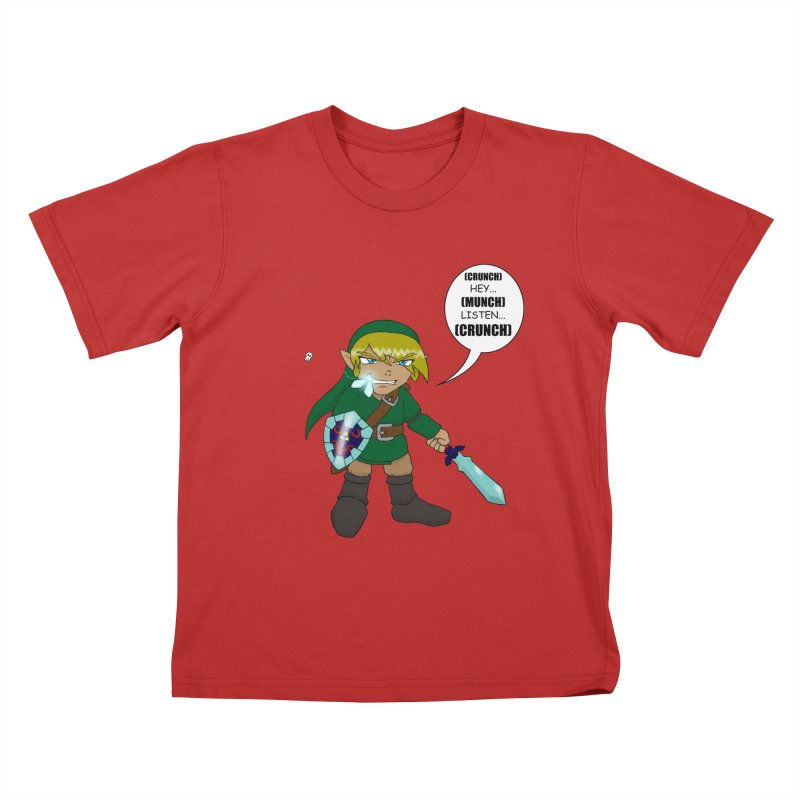 Link's Fantasy Kids T-shirt by zhephskyre's Artist Shop