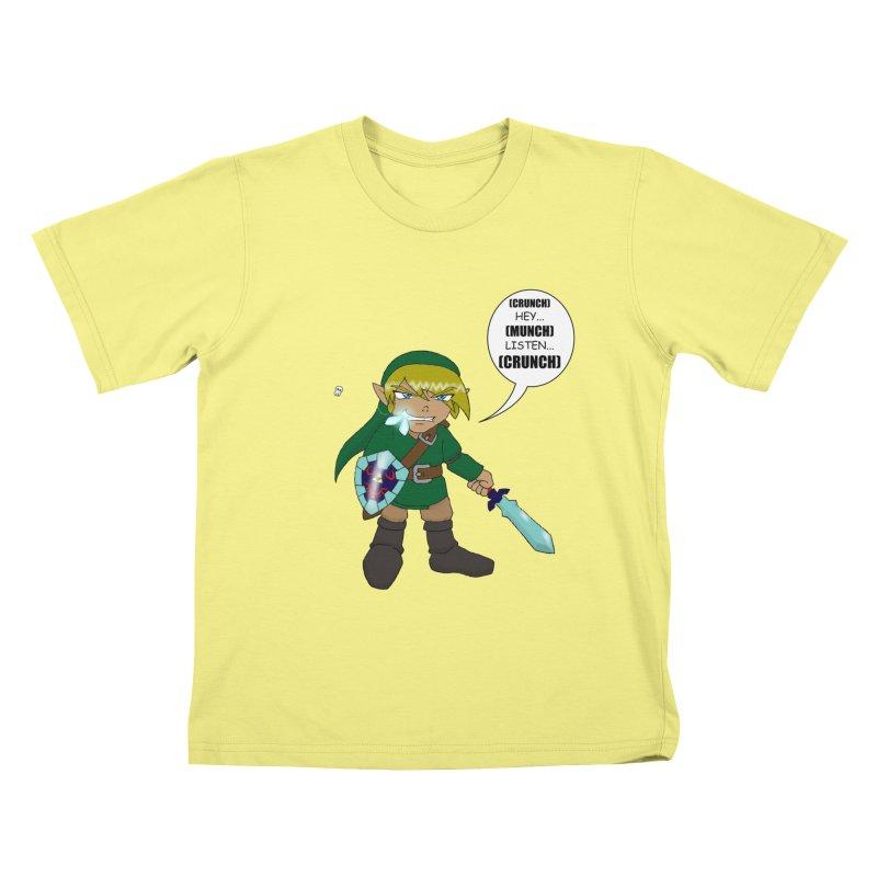 Link's Fantasy Kids T-shirt by zhephskyre's Artist Shop