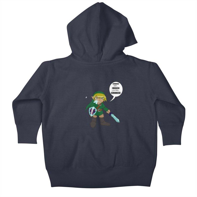 Link's Fantasy Kids Baby Zip-Up Hoody by zhephskyre's Artist Shop