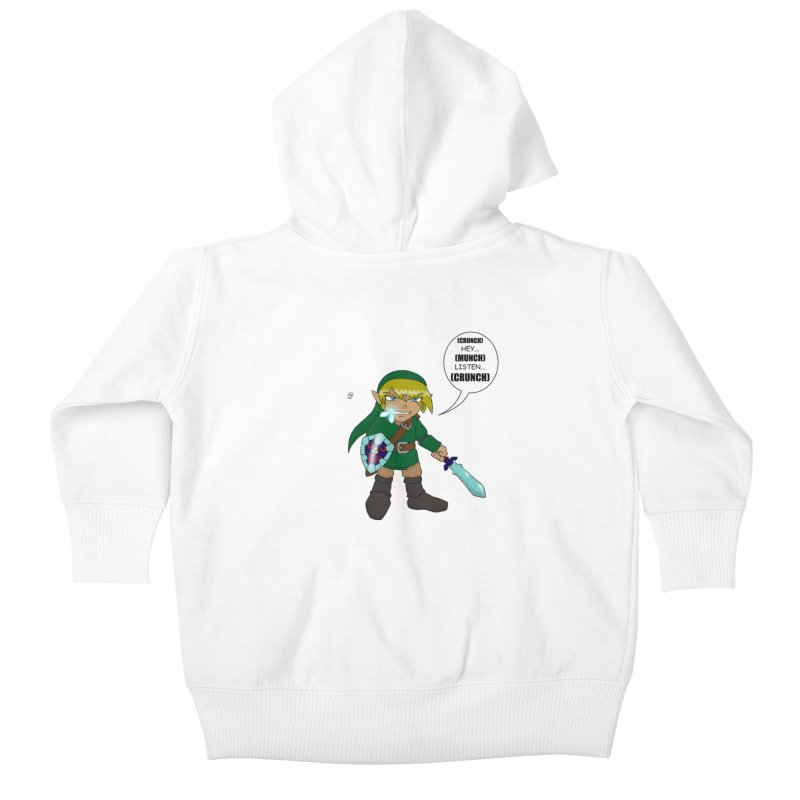 Link's Fantasy Kids Baby Zip-Up Hoody by zhephskyre's Artist Shop