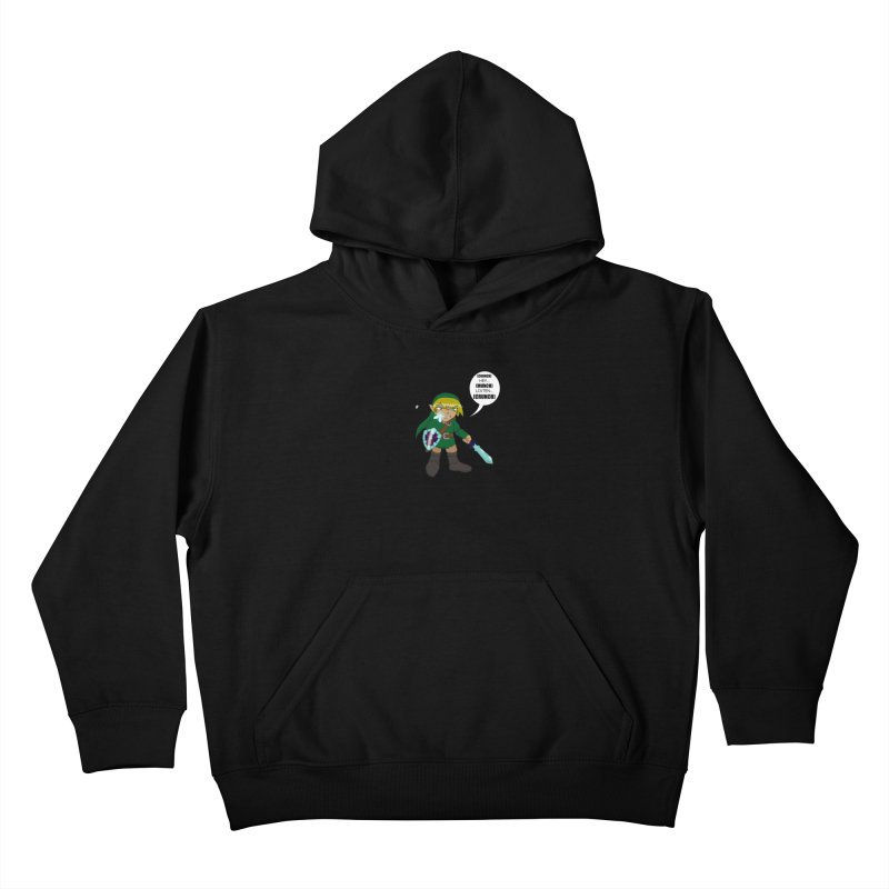 Link's Fantasy Kids Pullover Hoody by Zheph Skyre