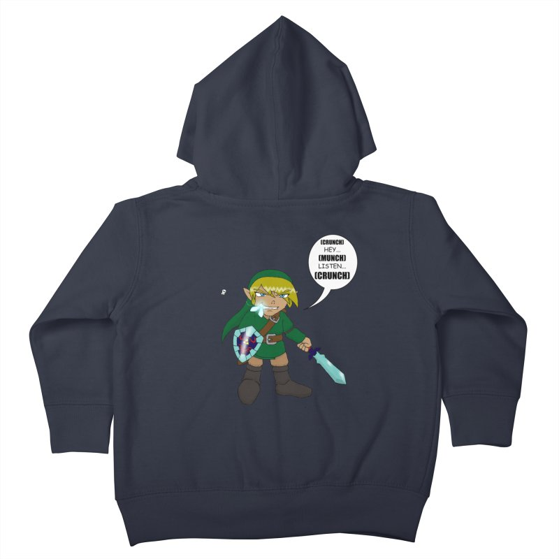 Link's Fantasy Kids Toddler Zip-Up Hoody by zhephskyre's Artist Shop