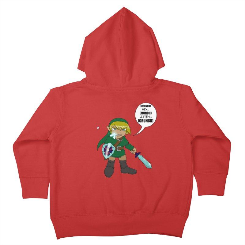 Link's Fantasy Kids Toddler Zip-Up Hoody by Zheph Skyre