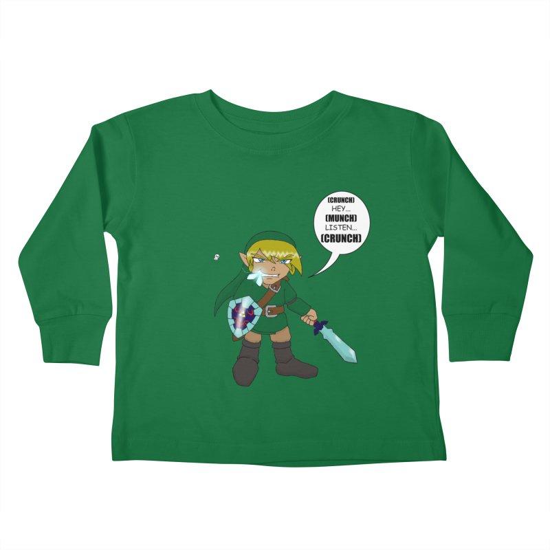 Link's Fantasy Kids Toddler Longsleeve T-Shirt by zhephskyre's Artist Shop