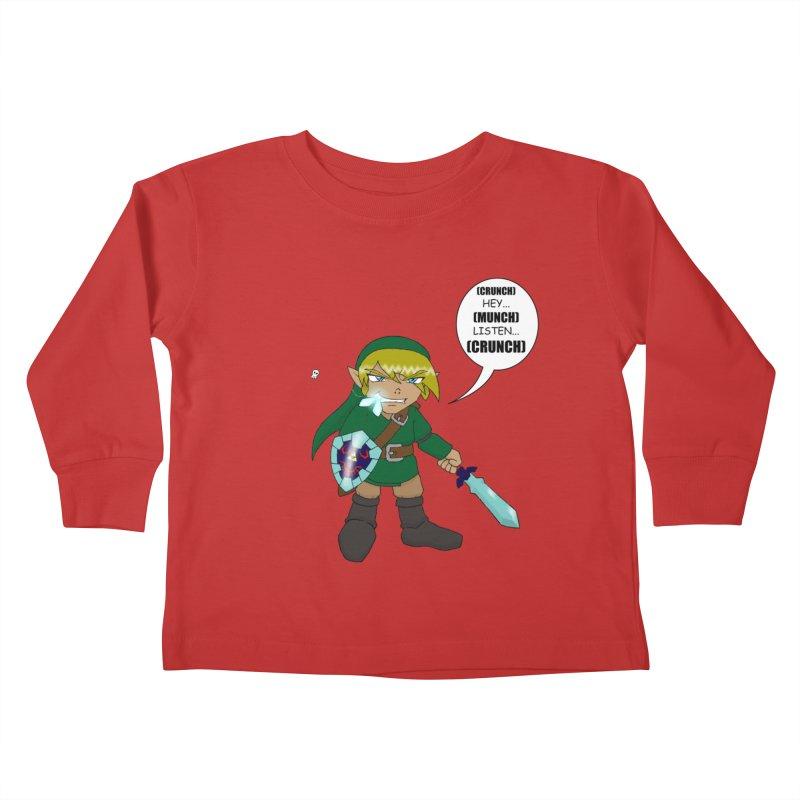 Link's Fantasy Kids Toddler Longsleeve T-Shirt by Zheph Skyre