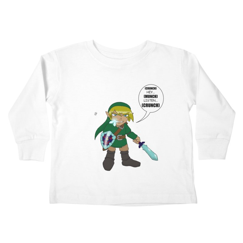 Link's Fantasy Kids Toddler Longsleeve T-Shirt by zhephskyre's Artist Shop