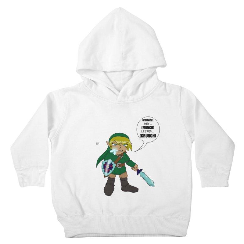 Link's Fantasy Kids Toddler Pullover Hoody by Zheph Skyre