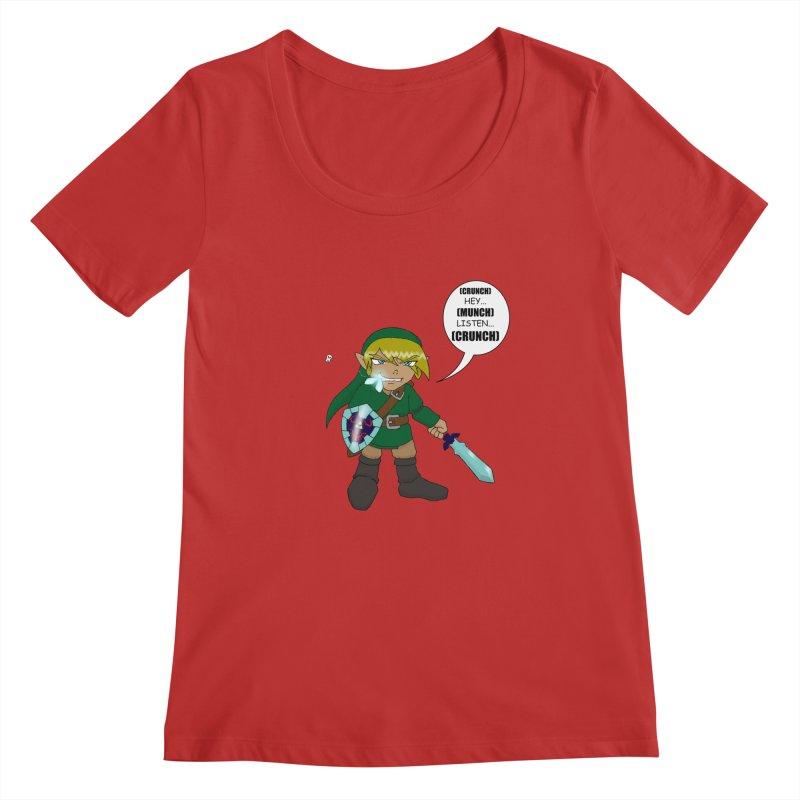 Link's Fantasy Women's Regular Scoop Neck by zhephskyre's Artist Shop