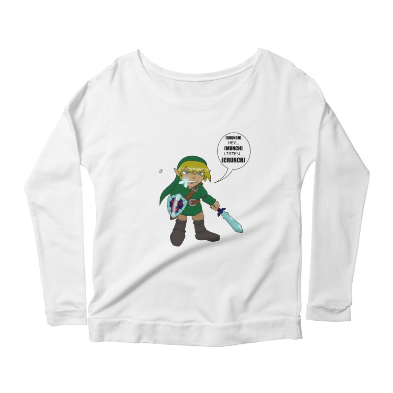 Link's Fantasy Women's Scoop Neck Longsleeve T-Shirt by Zheph Skyre