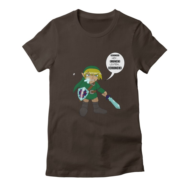 Link's Fantasy Women's Fitted T-Shirt by zhephskyre's Artist Shop