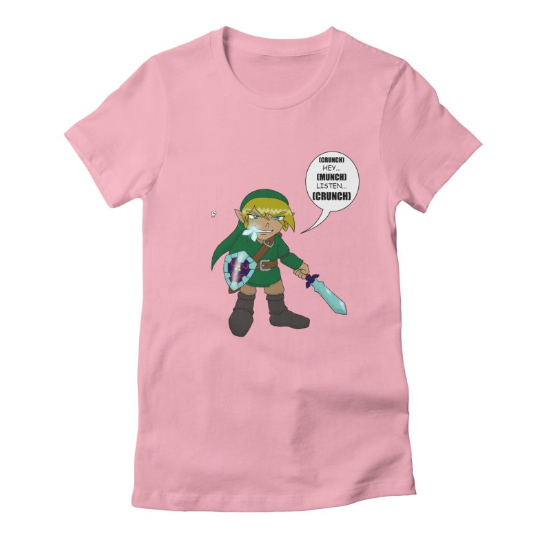 Link's Fantasy Women's Fitted T-Shirt by Zheph Skyre