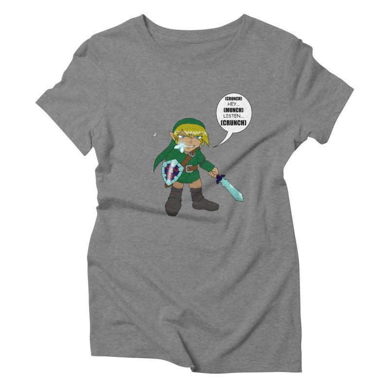 Link's Fantasy Women's Triblend T-Shirt by Zheph Skyre