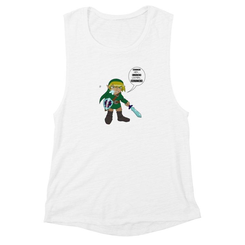Link's Fantasy Women's Muscle Tank by zhephskyre's Artist Shop