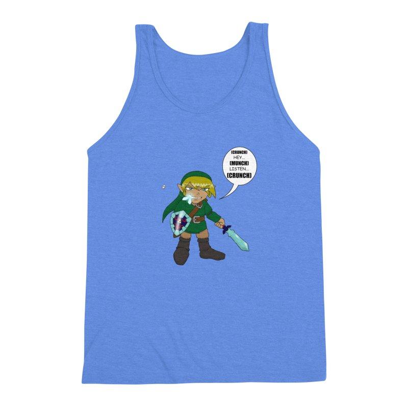 Link's Fantasy Men's Triblend Tank by zhephskyre's Artist Shop