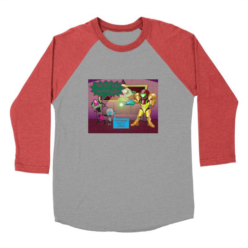 Zim Vs Samus Men's Longsleeve T-Shirt by Zheph Skyre