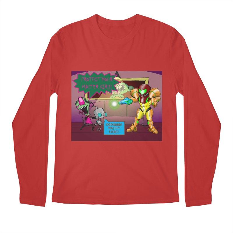 Zim Vs Samus Men's Longsleeve T-Shirt by zhephskyre's Artist Shop