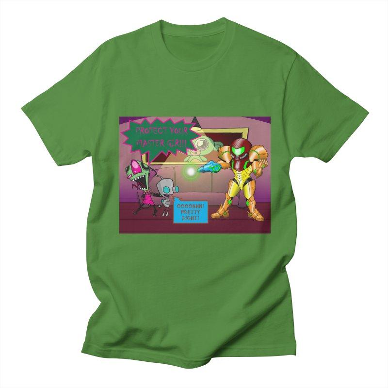 Zim Vs Samus Men's Regular T-Shirt by zhephskyre's Artist Shop