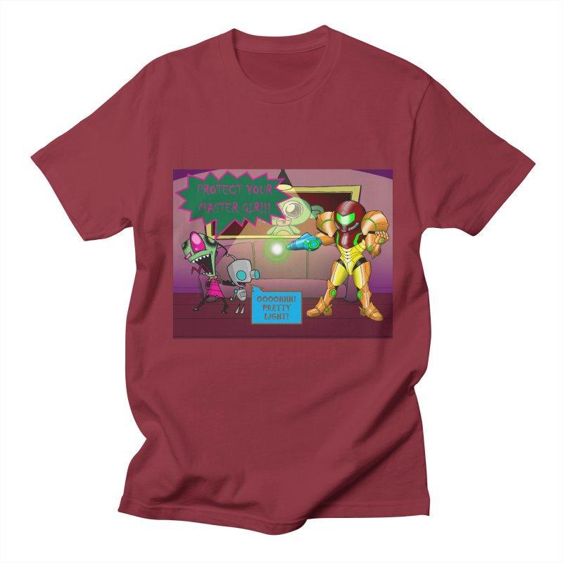 Zim Vs Samus Men's Regular T-Shirt by Zheph Skyre