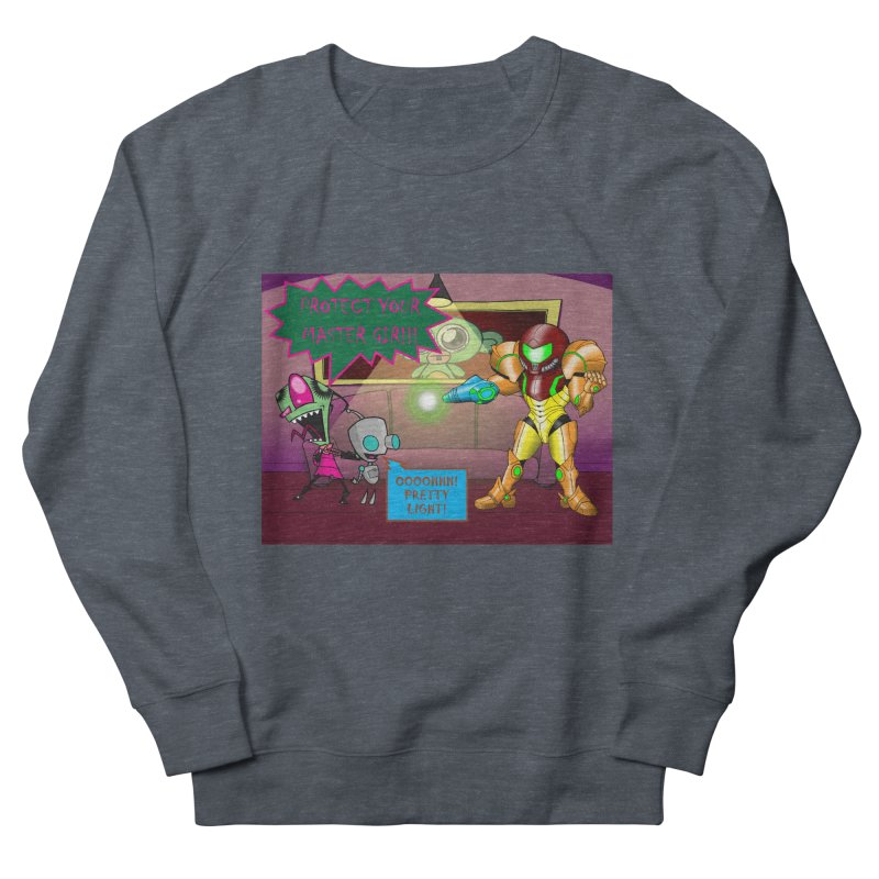 Zim Vs Samus Women's French Terry Sweatshirt by zhephskyre's Artist Shop