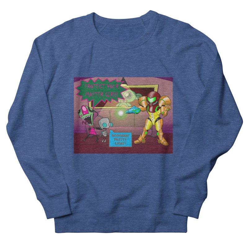 Zim Vs Samus Men's Sweatshirt by Zheph Skyre