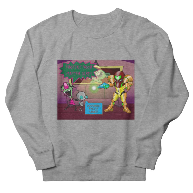 Zim Vs Samus Men's French Terry Sweatshirt by Zheph Skyre