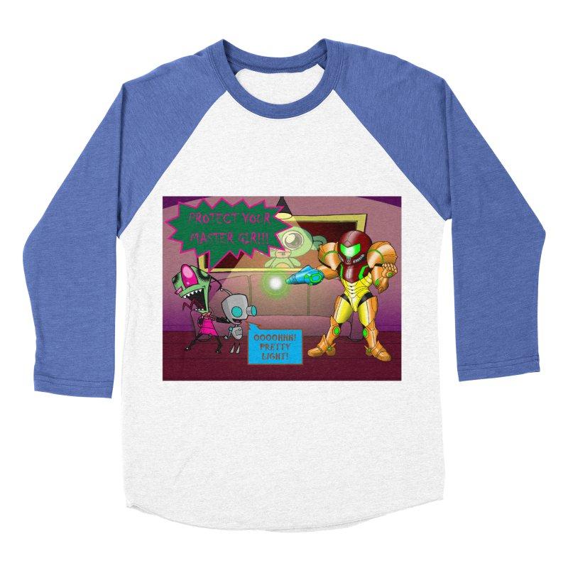 Zim Vs Samus Women's Baseball Triblend Longsleeve T-Shirt by Zheph Skyre