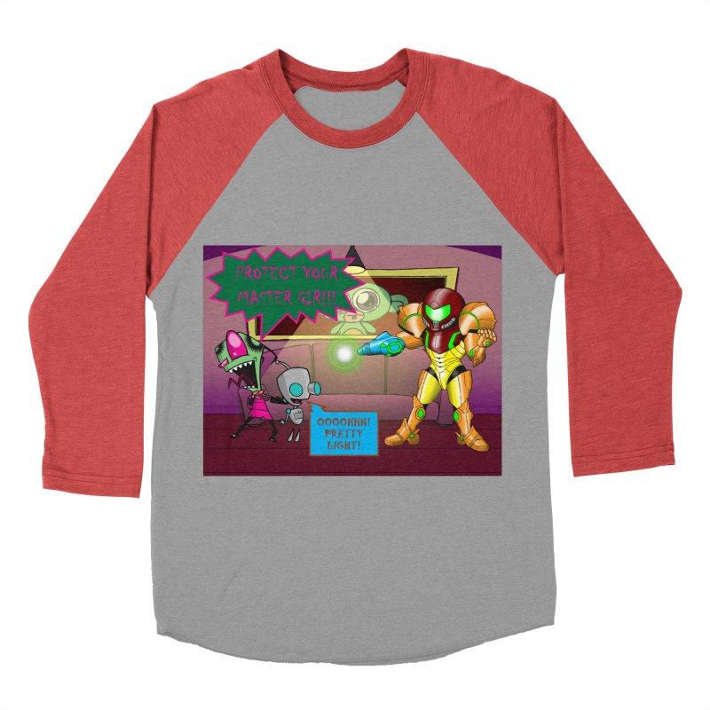 Zim Vs Samus Women's Baseball Triblend T-Shirt by zhephskyre's Artist Shop