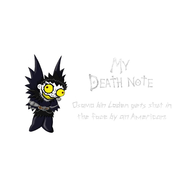 Deathnote for Bin Laden by zhephskyre's Artist Shop