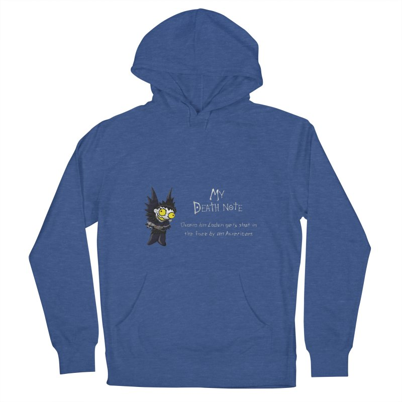 Deathnote for Bin Laden Men's French Terry Pullover Hoody by Zheph Skyre