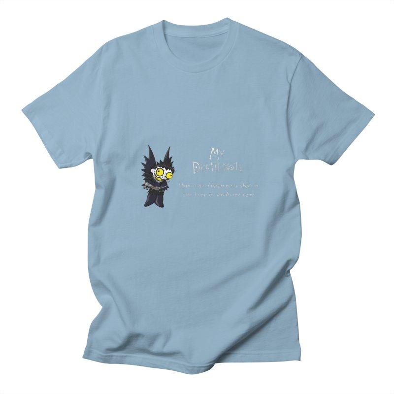Deathnote for Bin Laden Men's Regular T-Shirt by zhephskyre's Artist Shop