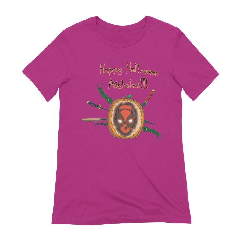 Jack-o-pool Women's Extra Soft T-Shirt by zhephskyre's Artist Shop