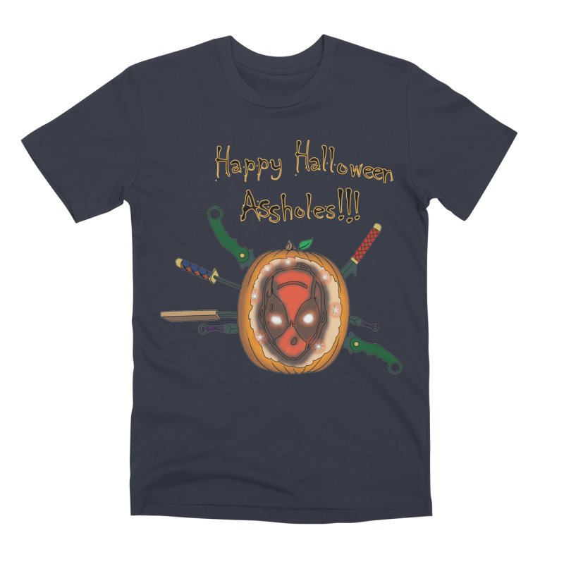 Jack-o-pool Men's Premium T-Shirt by zhephskyre's Artist Shop