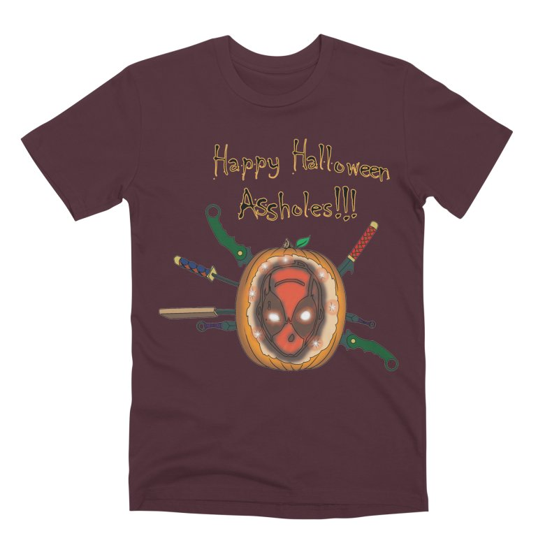 Jack-o-pool Men's Premium T-Shirt by Zheph Skyre
