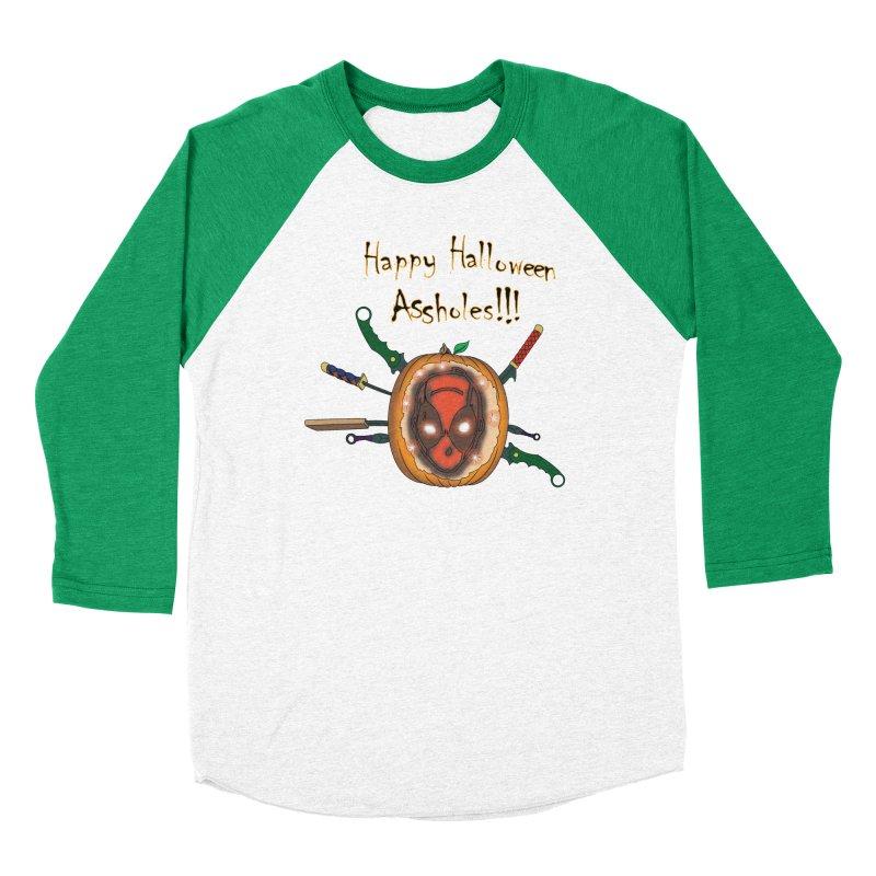 Jack-o-pool Men's Baseball Triblend Longsleeve T-Shirt by Zheph Skyre